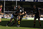 Wycombe, GREAT BRITAIN, WASPS, PAUL SACKEY,  during the Guinness Premiership match, London Wasps vs NEC Harlequins, at Adams Park,  Wycombe, ENGLAND, 17/09/2006. [Photo, Peter Spurrier/Intersport-images].