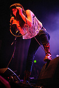 Sleeper Agent performing in support of Cage the Elephant at the Pageant in St. Louis on December 13, 2011.