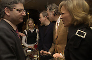 Dominic Lawson, Mr. and Mrs. Harry Enfield, Bob Geldof and Maya de Schonburg. Charity sale of the last ever sale at Asprey and Garrard. New Bond St. London. 15/1/02© Copyright Photograph by Dafydd Jones 66 Stockwell Park Rd. London SW9 0DA Tel 020 7733 0108 www.dafjones.com