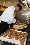 The Opinionated Chef Barry Sexton of The Opinionated Palate and his team of caterers prepare and serve hors d'oeuvres, dinner and dessert at a birthday party consisting of 150 guests. The party takes place at Greystone Manor, a premier location for wedding receptions and other special events.