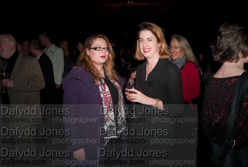SOFIA KARAMANI; KATHARINE STOUT;  Patrick Keiller The  Robinson Institute,  The Duveens Commission: - Tate Britain, Millbank, London. 26 March 2012.