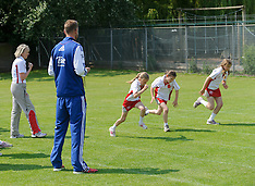 JUNE 26 2013 England cricketer Stuart Broad returns to school for Sports Day
