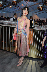 DAISY LOWE at British Vogue's Centenary Gala Dinner in Kensington Gardens, London on 23rd May 2016.
