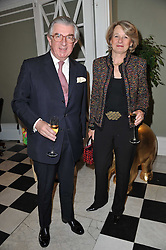 LORD & LADY MAGAN at a party to celebrate the 60th birthday of Mark Shand and the 50th birthday of Tara the elephant held at 29 Portland Place, London on 25th May 2011.