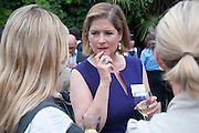 AMANDA CONSTANCE, Archant Summer party. Kensington Roof Gardens. London. 7 July 2010. -DO NOT ARCHIVE-© Copyright Photograph by Dafydd Jones. 248 Clapham Rd. London SW9 0PZ. Tel 0207 820 0771. www.dafjones.com.