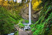 Latourell Falls, Columbia River Gorge, OR.