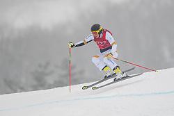 February 23, 2018 - Pyeongchang, SOUTH KOREA - 180223 Sandra Näslund of Sweden competes in the Women's Freestyle Ski Cross 1/8 Final during day fourteen of the 2018 Winter Olympics on February 23, 2018 in Pyeongchang..Photo: Carl Sandin / BILDBYRÃ…N / kod CS / 57999_318 (Credit Image: © Carl Sandin/Bildbyran via ZUMA Press)