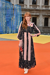 Florence Welch at the Royal Academy of Arts Summer Exhibition Preview Party 2017, Burlington House, London England. 7 June 2017.