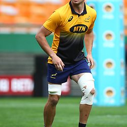 Franco Mostert of South Africa during the South African - Springbok Captain's Run at DHL Newlands Stadium. Cape Town.South Africa. 22,06,2018 23,06,2018 Photo by (Steve Haag JMP)