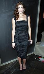 Ashley Greene at the Donna Karan show at  New York Fashion Week, Monday, 10th  September 2012. Photo by: Stephen Lock / i-Images