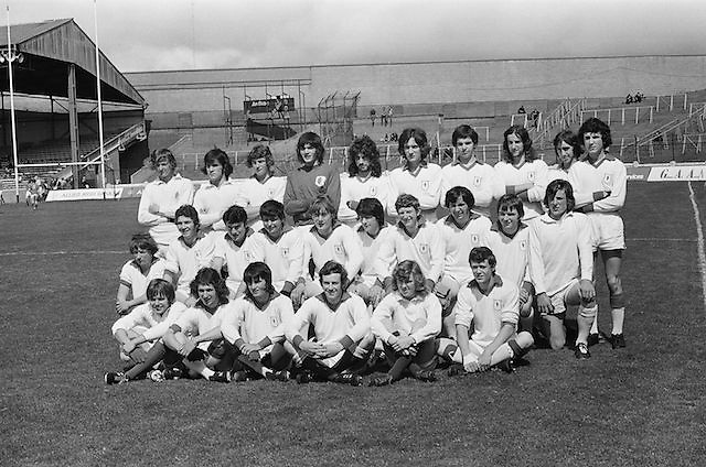 20.08.1972 Minor Semi Final Meath v Tyrone at Croke Park.Tyrone Team