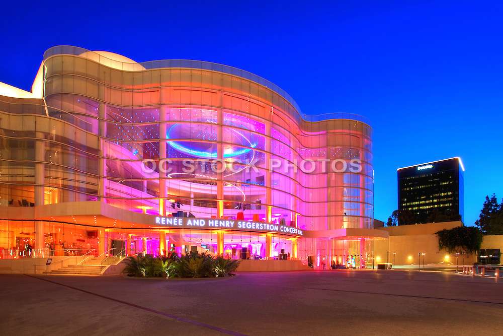 Renee and Henry Segerstrom Concert Hall and Samueli Theater in Orange County California