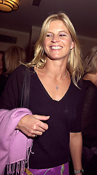 The MARCHIONESS OF MILFORD HAVEN at a party in London on 3rd October 2000.OHN 6