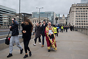 Bishop of Southwark, , The Blessing of the river, St. Magnus the Martyr and Southwark Cathedral join on London Bridge to Bless the river Thames. 13 January 2019