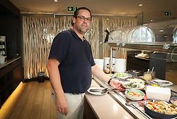 August 24, 2017 - Tubize, BELGIUM - Belgium's chef Bartel Dewulf, member of the staff of Belgian national soccer team Red Devils poses for the photographer, Thursday 24 August 2017, in Tubize. BELGA PHOTO VIRGINIE LEFOUR (Credit Image: © Virginie Lefour/Belga via ZUMA Press)