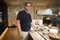 August 24, 2017 - Tubize, BELGIUM - Belgium's chef Bartel Dewulf, member of the staff of Belgian national soccer team Red Devils poses for the photographer, Thursday 24 August 2017, in Tubize. BELGA PHOTO VIRGINIE LEFOUR (Credit Image: © Virginie Lefour/Belga via ZUMA Press)