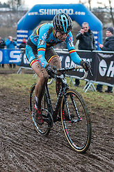 Wout van Aert (BEL), Men Elite, Cyclo-cross World Championship Tabor, Czech Republic, 1 February 2015, Photo by Pim Nijland / PelotonPhotos.com