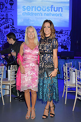 Left to right, CLEA NEWMAN daughter of the late actor Paul Newman founder of the SeriousFun Children's network and NATALIE PINKHAM at the SeriousFun Children's Network London Gala held at The Roundhouse, Chalk Farm Road, London on 3rd November 2016.