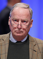 30.04.2016, Messe, Stuttgart, GER, 5. Bundesparteitag der AfD, im Bild Dr. Alexander Gauland, Stellvertretender Vorsitzender der AFD // during the 5th party convention of the Alternative for Germany (AfD) at the Messe in Stuttgart, Germany on 2016/04/30. EXPA Pictures © 2016, PhotoCredit: EXPA/ Sammy Minkoff<br /> <br /> *****ATTENTION - OUT of GER*****