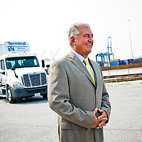 8/17/12 Baltimore, MD - Terminal Transportation Service's President Tom Huesman.