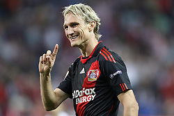 30.09.2010, Vicente Calderon Stadion, Madrid, UEFA EL, Atletico de Madrid vs Bayer 04 Leverkusen, im Bild Bayer Leverkusen's  Sami Hyypia during UEFA Europe League. EXPA Pictures © 2010, PhotoCredit: EXPA/ Alterphotos/ Cesar Cebolla +++++ ATTENTION - OUT OF SPAIN / ESP +++++