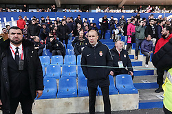 February 10, 2019 - Montpellier, France - Leonardo JARDIM, entraineur As Monaco expulser expulsion expulsé par l'arbitre en tribune (Credit Image: © Panoramic via ZUMA Press)