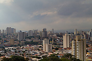 An aerial view of high rise buildings in São Paulo, Brazil.