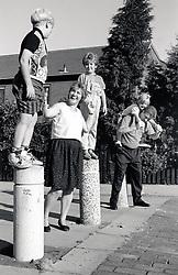 Family, UK 1990s