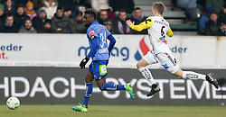 03.03.2018, TGW Arena, Pasching, AUT, 1. FBL, LASK Linz vs SK Puntigamer Sturm Graz, 25. Runde, im Bild v.l. Osagie Bright Edomwonyi (SK Puntigamer Sturm Graz), Philipp Wiesinger (LASK Linz) // during the Austrian Football Bundesliga 25th Round match between LASK Linz und SK Puntigamer Sturm Graz at the TGW Arena in Pasching, Austria on 2018/03/03. EXPA Pictures © 2018, PhotoCredit: EXPA/ Roland Hackl