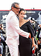 Goldblum & Emilie Livingston At The Mountain Premiere