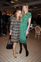 Left to right, DAISY DE VILLENEUVE and JADE PARFITT at a party to celebrate the 2nd issue of Distill Magazine held at The Shop at Bluebrid, Kings Road, London on 1st December 2008.