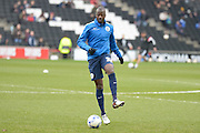 QPR Midfielder Samba Diakite during the Sky Bet Championship match between Milton Keynes Dons and Queens Park Rangers at stadium:mk, Milton Keynes, England on 5 March 2016. Photo by Dennis Goodwin.