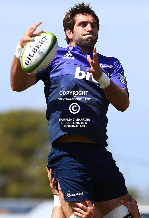 DURBAN, SOUTH AFRICA, 22,MARCH, 2016 - Samuel Whitelock during The Crusaders training session  at Northwood School Durban North in Durban, South Africa. (Photo by Steve Haag)<br /> <br /> images for social media must have consent from Steve Haag