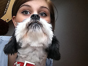 Look at me, I'm the cat's whiskers! Poor pets roped in as beards in the latest internet craze<br /> <br /> As internet memes go this one is definitely the cat's whiskers.<br /> Bearding involves holding a hapless moggie in front of one's face to give the impression of a glorious, luxuriant beard. And believe it or not, it's catching on.<br /> Some pet owners prefer to simply hold their cats up horizontally for a quick Grizzly Adams imitation, but to others this is little more than cheating.<br /> For true bearding aficionados, the classic pose is a little more complex and involves holding the animal vertically nose-to-nose with it looking up for a Father Christmas look.<br /> <br /> The craze got off to a slow start with the first recorded picture of bearding uploaded to tumblr by a user named Catasters in July 2011.<br /> There was a small flurry of interest and the picture spread to a number of other social networking sites.<br /> <br /> <br /> But it wasn't until 2012 that the fad began to gather momentum following the creation of a dedicated website cat-beard.com.<br /> Longhair breeds are the most commonly bearded, however there has been a recent surge in the use of shorthairs, tabbies or in some rare cases small dogs<br /> Bearding follows earlier cat-based memes 'breading' (taking pictures of cats with their heads stuck through slices of bread) and 'Cats that look like Hitler'.<br /> ©Catbeard.com/Exclusivepix