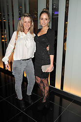 Left to right, sisters ALICE BRUDENELL-BRUCE and FLORENCE BRUDENELL-BRUCE at a party to celebrate the 15th birthday of Vogue.com held at W Hotel, Leicester Square, London W1 on 17th February 2011.