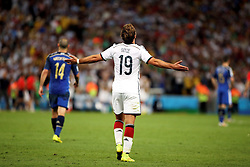 13.07.2014, Maracana, Rio de Janeiro, BRA, FIFA WM, Deutschland vs Argentinien, Finale, im Bild Mario Goetze (GER) freut sich ueber sein entscheidendes Tor zum 1:0 // during Final match between Germany and Argentina of the FIFA Worldcup Brazil 2014 at the Maracana in Rio de Janeiro, Brazil on 2014/07/13. EXPA Pictures © 2014, PhotoCredit: EXPA/ Eibner-Pressefoto/ Cezaro<br /> <br /> *****ATTENTION - OUT of GER*****