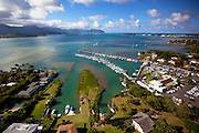 Kaneohe Yacht Club, Kaneohe Bay, Oahu, Hawaii.