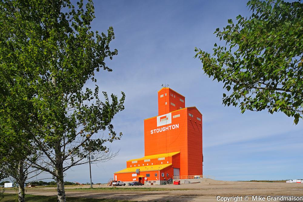 grain elevator<br /> Staughton<br /> Saskatchewan<br /> Canada