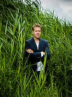 Nederland, Amsterdam theatermaker Peter Heerschop Foto: Marco Hofste