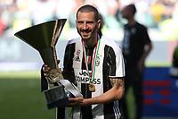 21.05.2017 - Torino Juventus Stadium -  Festa e premiazione scudetto 2016-17  nella  foto: Leonardo Bonucci