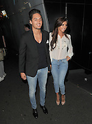 04.SEPTEMBER.2012. LONDON<br /> <br /> MARIO FALCONE AND LUCY MECKLENBURGH ATTEND THE JEANS FOR GENES LAUNCH PARTY AT THE W HOTEL, LEICESTER SQUARE.<br /> <br /> BYLINE: EDBIMAGEARCHIVE.CO.UK<br /> <br /> *THIS IMAGE IS STRICTLY FOR UK NEWSPAPERS AND MAGAZINES ONLY*<br /> *FOR WORLD WIDE SALES AND WEB USE PLEASE CONTACT EDBIMAGEARCHIVE - 0208 954 5968*