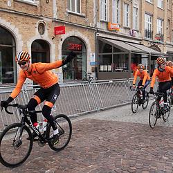 31-03-2019: Wielrennen: Kattekoers: Ieper<br /> Team Holland