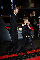 David Beckham attends The World Premiere of 'The Class of 92'. Odeon West End, London, United Kingdom. Sunday, 1st December 2013. Picture by Chris Joseph / i-Images