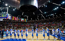 EuroBasket 2009 Quaterfinals match between Turkey and Greece, on September 18, 2009 in Arena Spodek, Katowice, Poland.  (Photo by Vid Ponikvar / Sportida)
