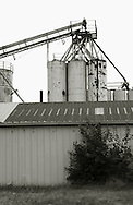 Grain elevator in Hutchinson, Kansas.