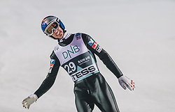 09.03.2020, Lysgards Schanze, Lillehammer, NOR, FIS Weltcup Skisprung, Raw Air, Lillehammer, Herren, Qualifikation, im Bild Gregor Schlierenzauer (AUT) // Gregor Schlierenzauer of Austria during men's qualification jump of the 2nd Stage of the Raw Air Series of FIS Ski Jumping World Cup at the Lysgards Schanze in Lillehammer, Norway on 2020/03/09. EXPA Pictures © 2020, PhotoCredit: EXPA/ JFK