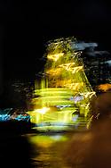 Shanghai, China. Phantom ship on the Huangpu River