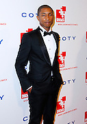 Pharrell Williams poses at the 5th Annual DKMS Gala at Cipriani Wall Street in New York City on April 28, 2011.