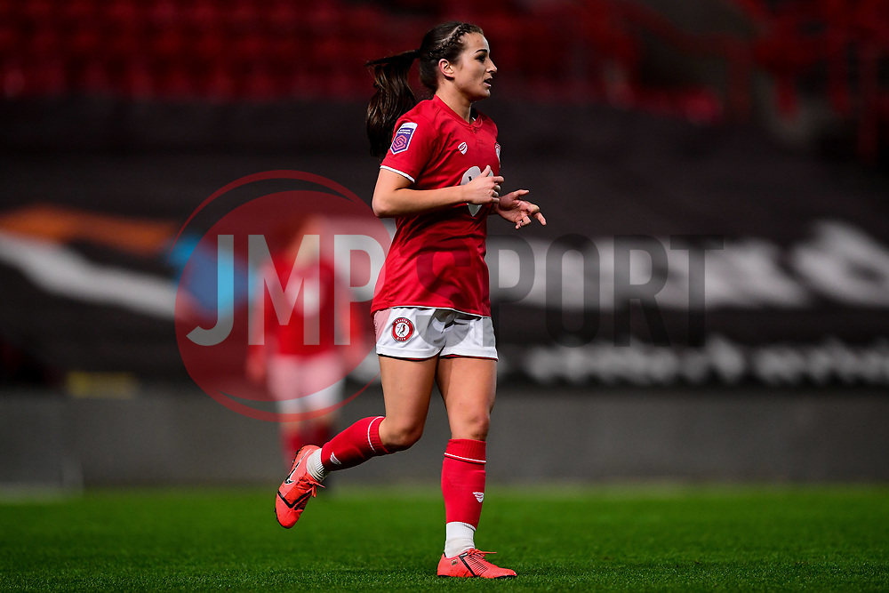 Megan Wynne of Bristol City - Mandatory by-line: Ryan Hiscott/JMP - 17/02/2020 - FOOTBALL - Ashton Gate Stadium - Bristol, England - Bristol City Women v Everton Women - Women's FA Cup fifth round