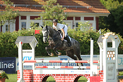 Ahsbahs, Deike, Arriba<br /> Fehmarn - Holsteiner Masters<br /> Springpferde Kl. A, 5+6j. Pferde<br /> © www.sportfotos-lafrentz.de/ Stefan Lafrentz